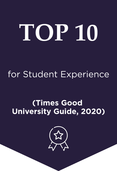 Gold in the Teaching Excellence Framework – Also Top 5 in the UK (THE ranking broad based universities)